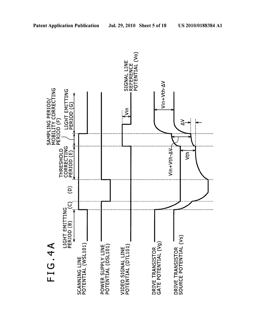 Display apparatus and method of driving same - diagram, schematic, and image 06