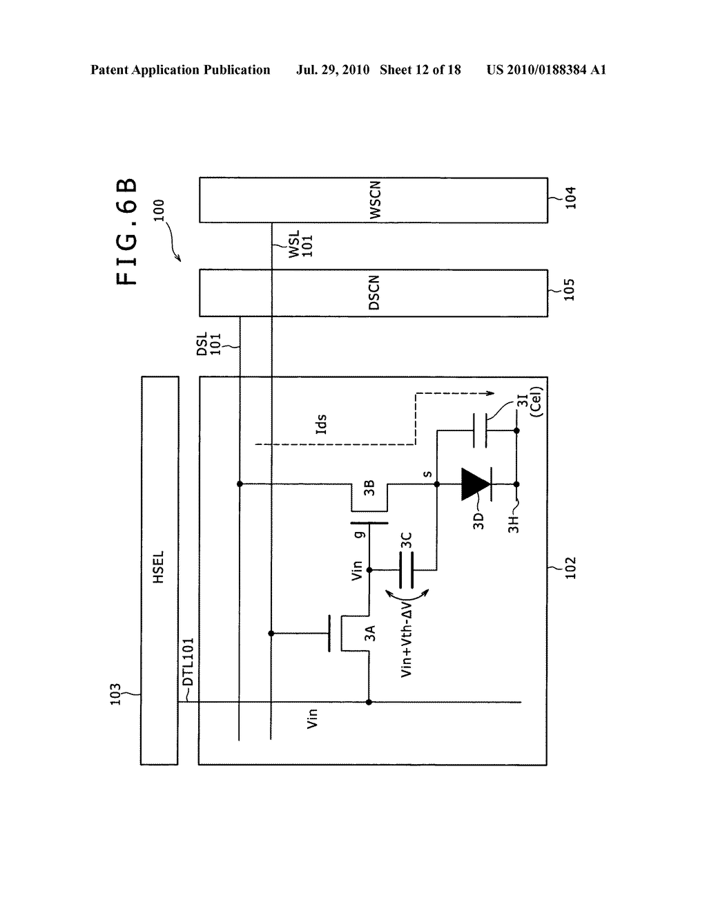 Display apparatus and method of driving same - diagram, schematic, and image 13