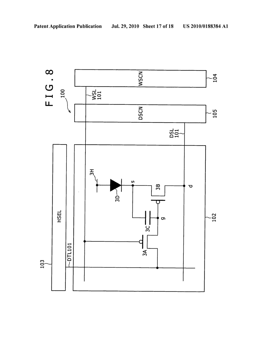 Display apparatus and method of driving same - diagram, schematic, and image 18