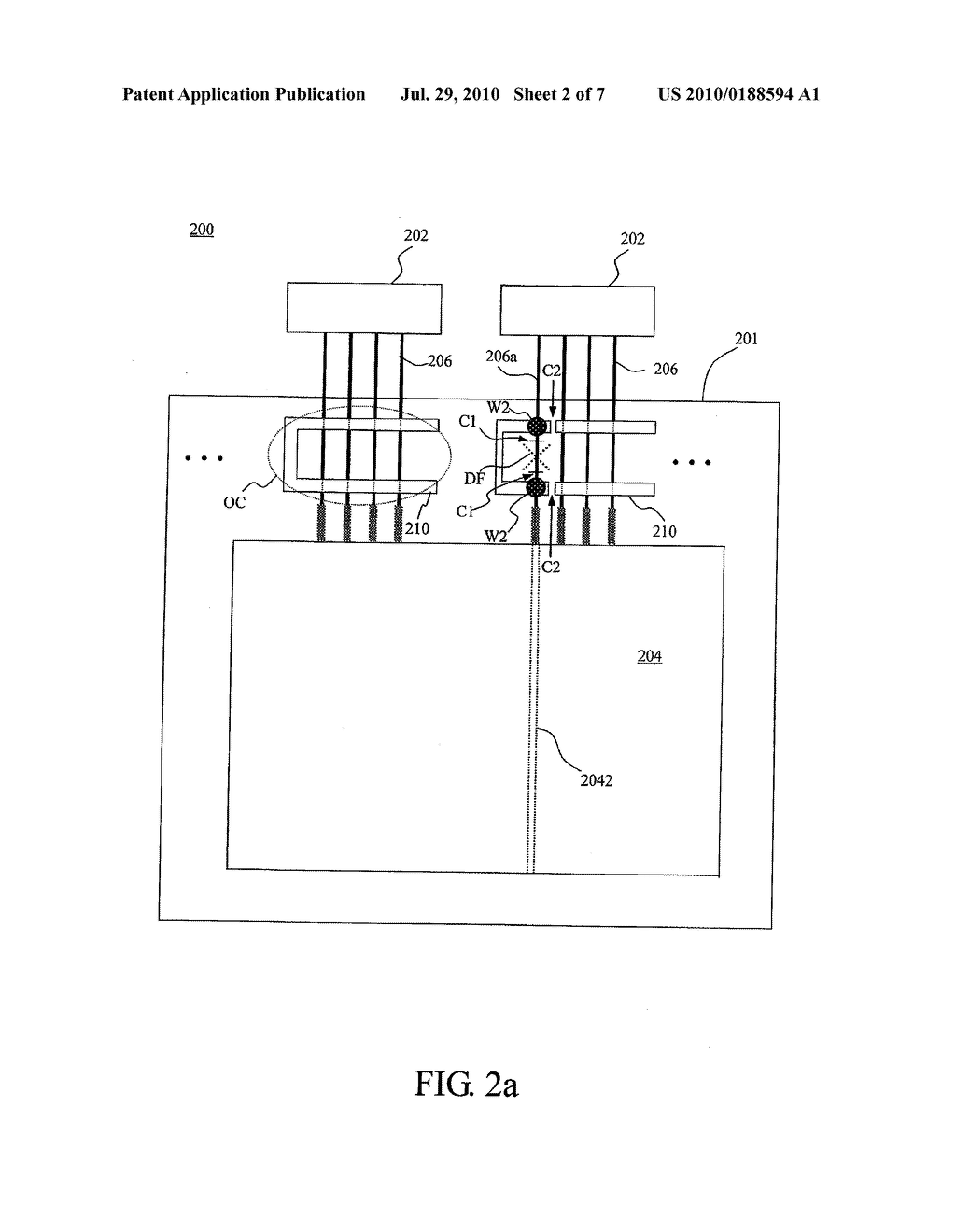 LIQUID CRYSTAL DISPLAY DEVICE AND RELATED REPAIRING METHODS - diagram, schematic, and image 03