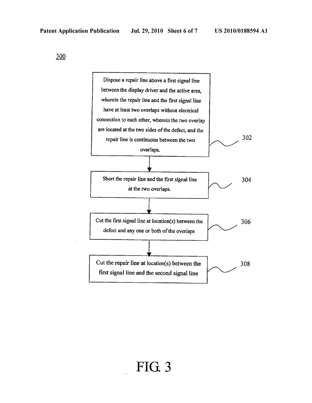 LIQUID CRYSTAL DISPLAY DEVICE AND RELATED REPAIRING METHODS - diagram, schematic, and image 07