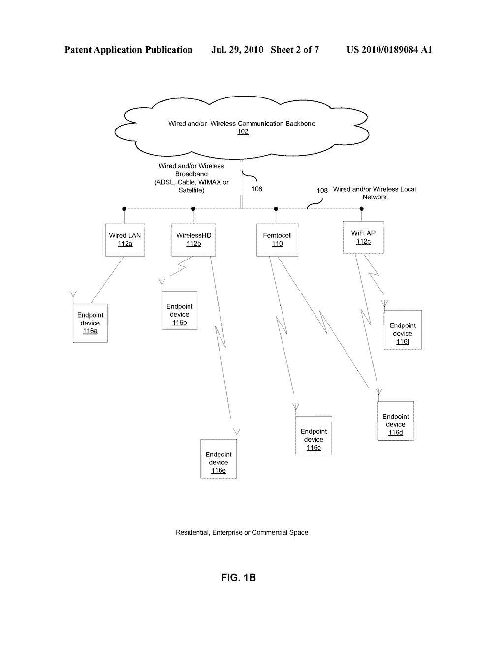 METHOD AND SYSTEM FOR OPTIMAL CONTROL OF DATA DELIVERY PATHS FOR A FEMTOCELL NETWORK - diagram, schematic, and image 03