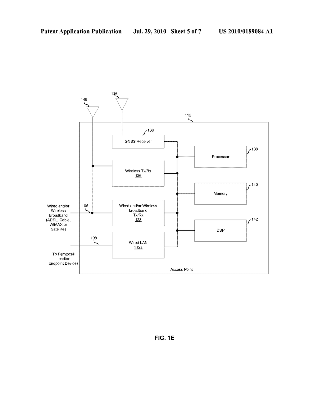 METHOD AND SYSTEM FOR OPTIMAL CONTROL OF DATA DELIVERY PATHS FOR A FEMTOCELL NETWORK - diagram, schematic, and image 06