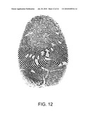 SYSTEMS AND METHODS FOR GRAPH-BASED PATTERN RECOGNITION TECHNOLOGY APPLIED TO THE AUTOMATED IDENTIFICATION OF FINGERPRINTS diagram and image