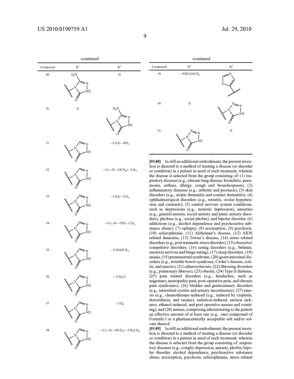 NK 1 ANTAGONISTS - diagram, schematic, and image 10