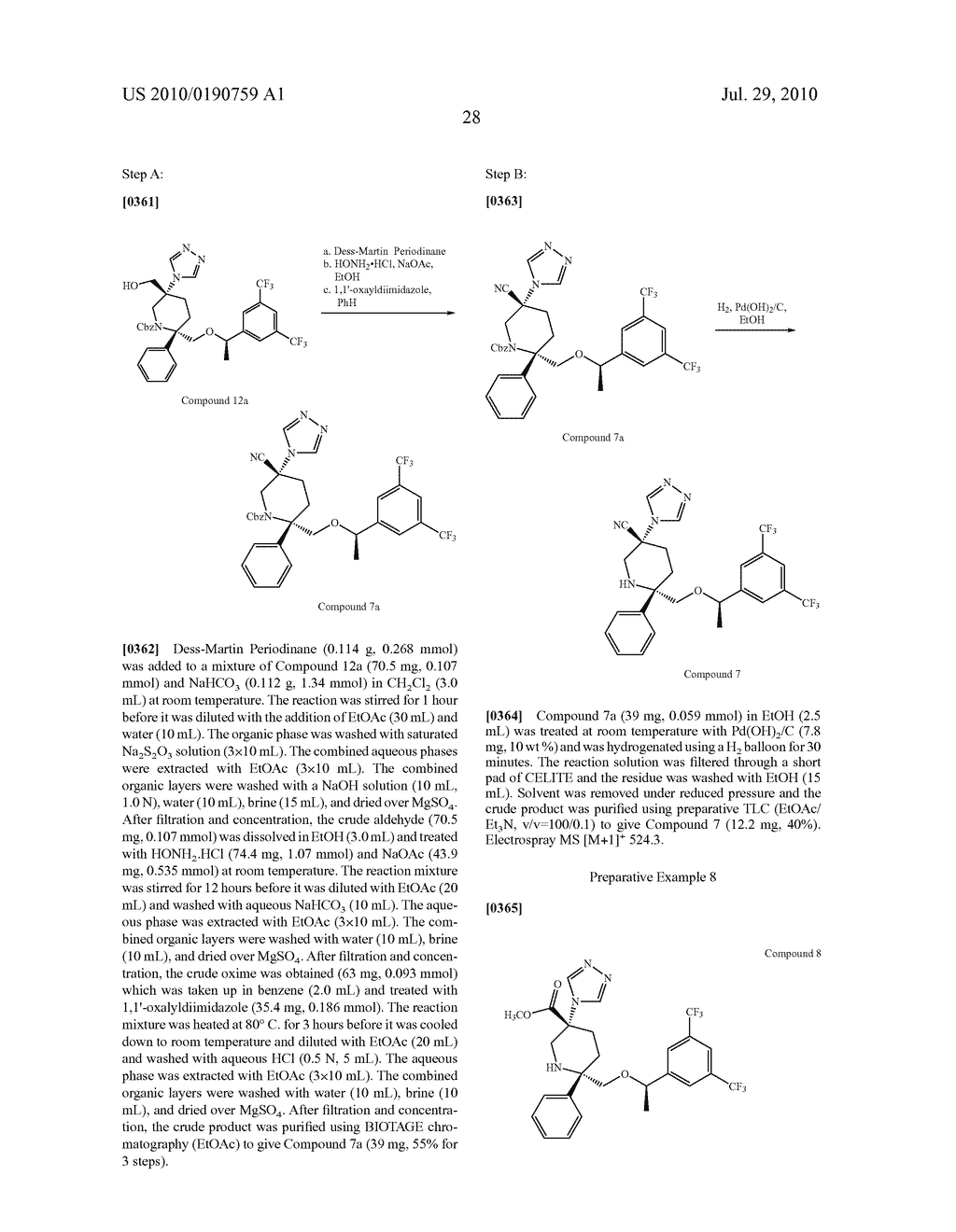 NK 1 ANTAGONISTS - diagram, schematic, and image 29