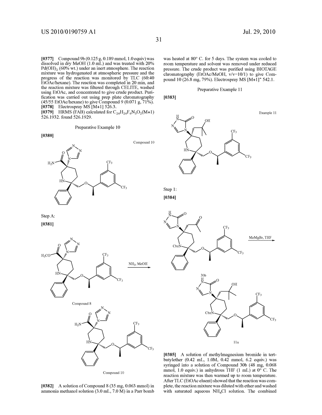 NK 1 ANTAGONISTS - diagram, schematic, and image 32