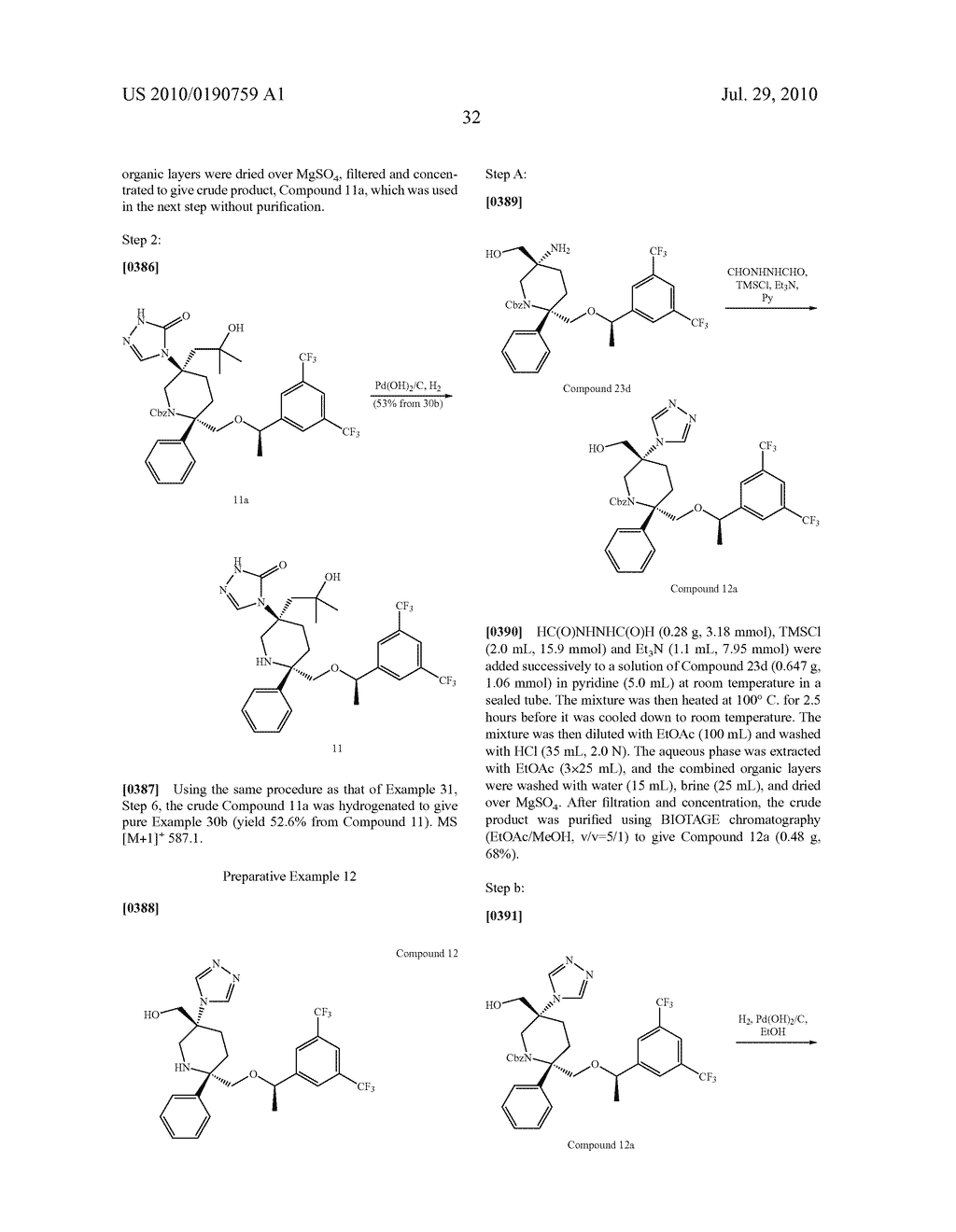 NK 1 ANTAGONISTS - diagram, schematic, and image 33