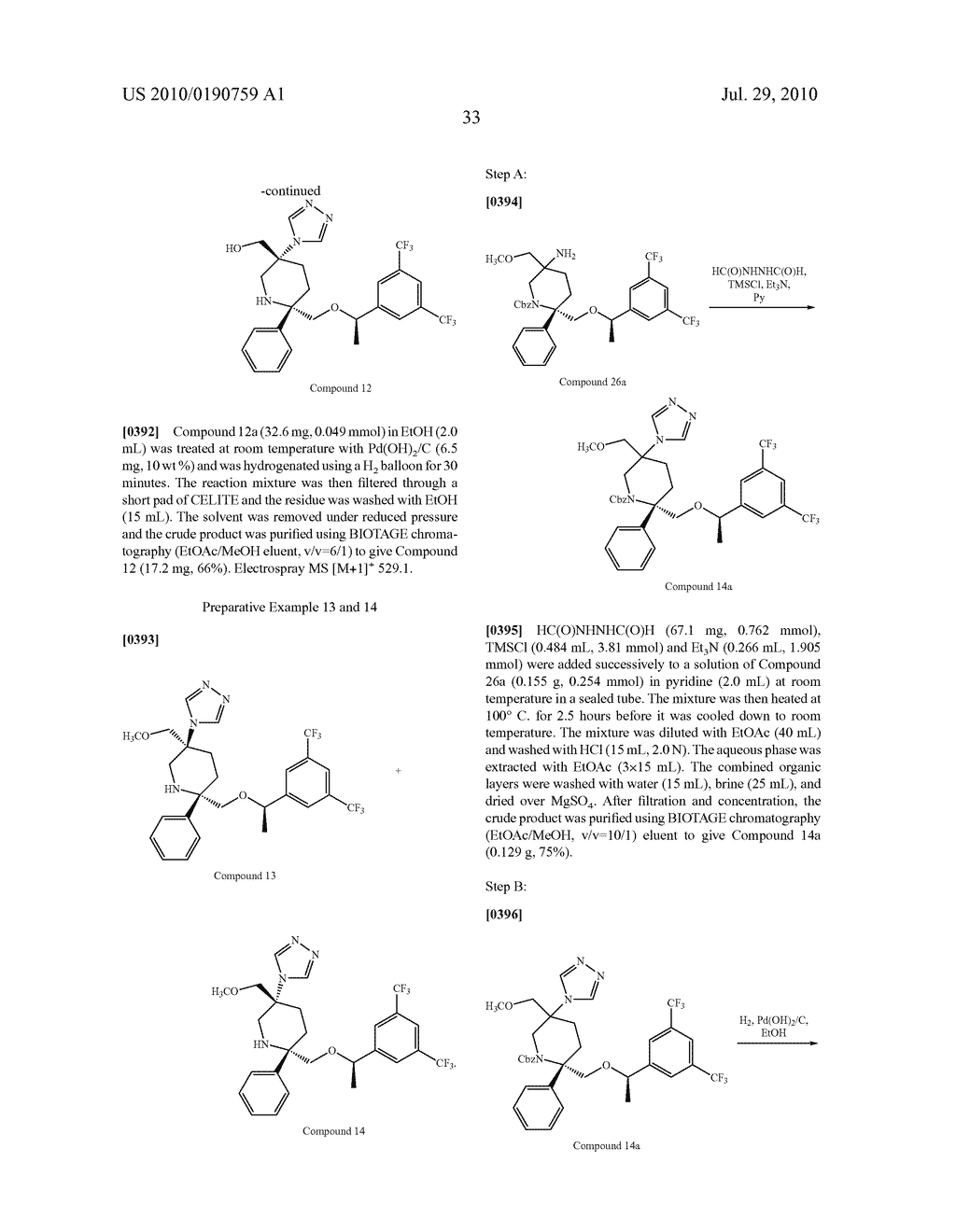 NK 1 ANTAGONISTS - diagram, schematic, and image 34