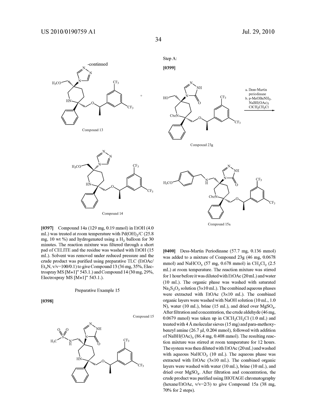 NK 1 ANTAGONISTS - diagram, schematic, and image 35