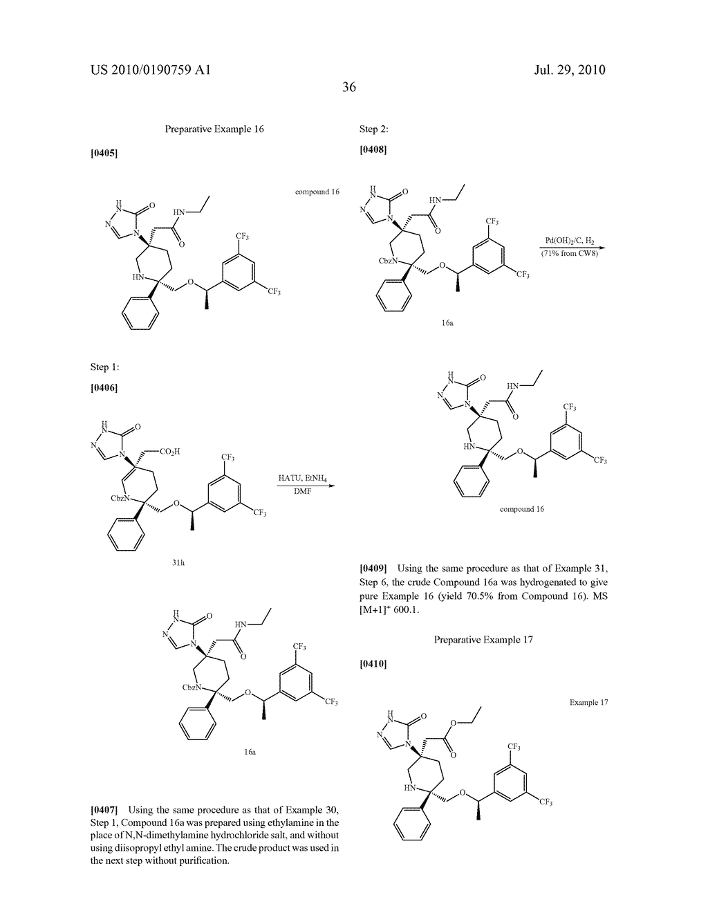 NK 1 ANTAGONISTS - diagram, schematic, and image 37