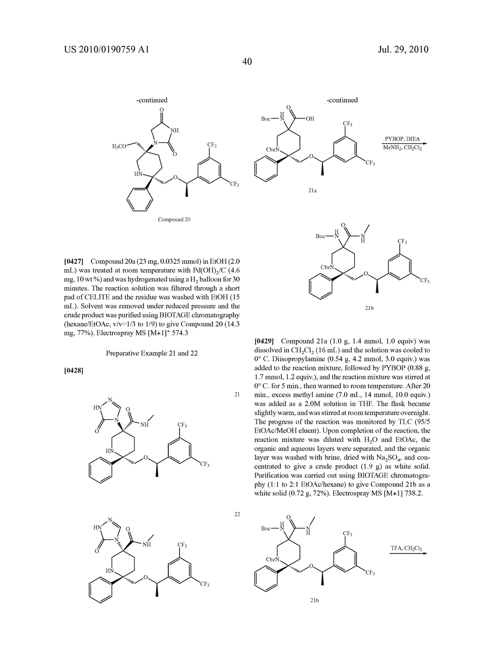 NK 1 ANTAGONISTS - diagram, schematic, and image 41