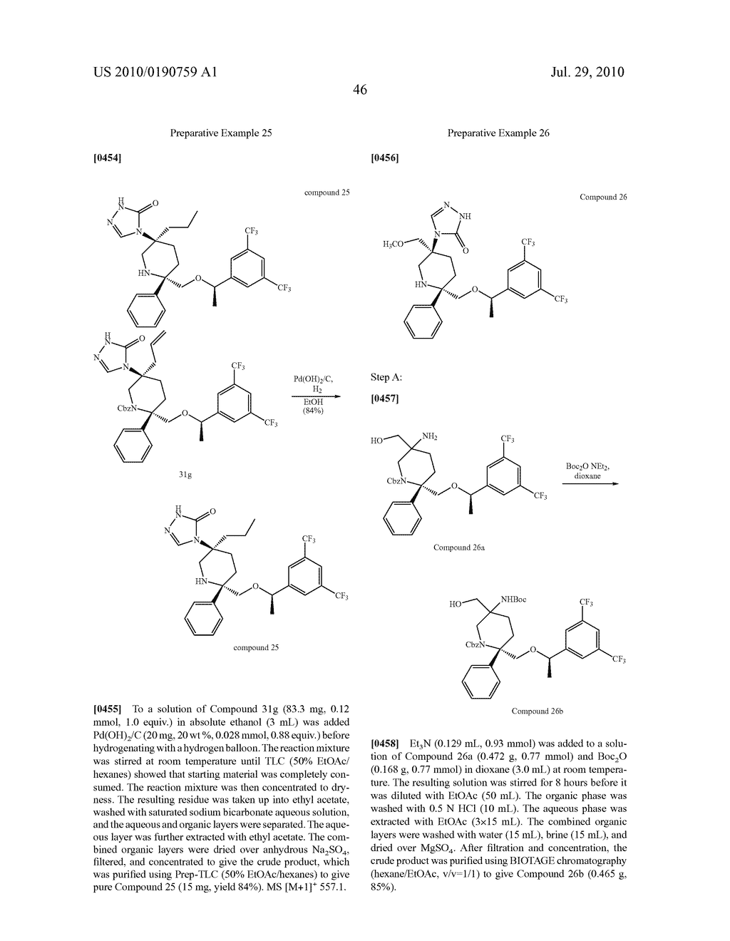 NK 1 ANTAGONISTS - diagram, schematic, and image 47