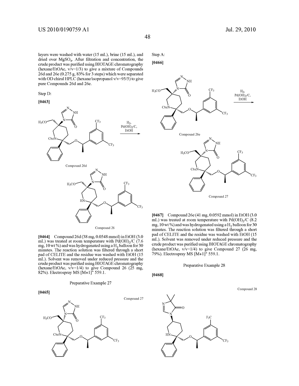 NK 1 ANTAGONISTS - diagram, schematic, and image 49