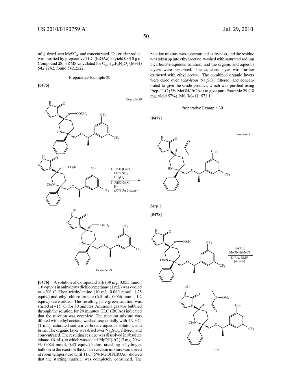 NK 1 ANTAGONISTS - diagram, schematic, and image 51