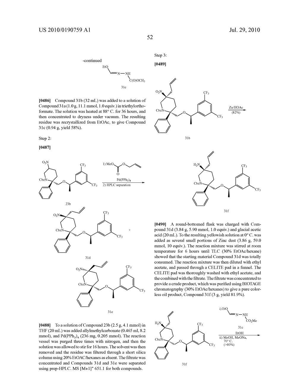 NK 1 ANTAGONISTS - diagram, schematic, and image 53