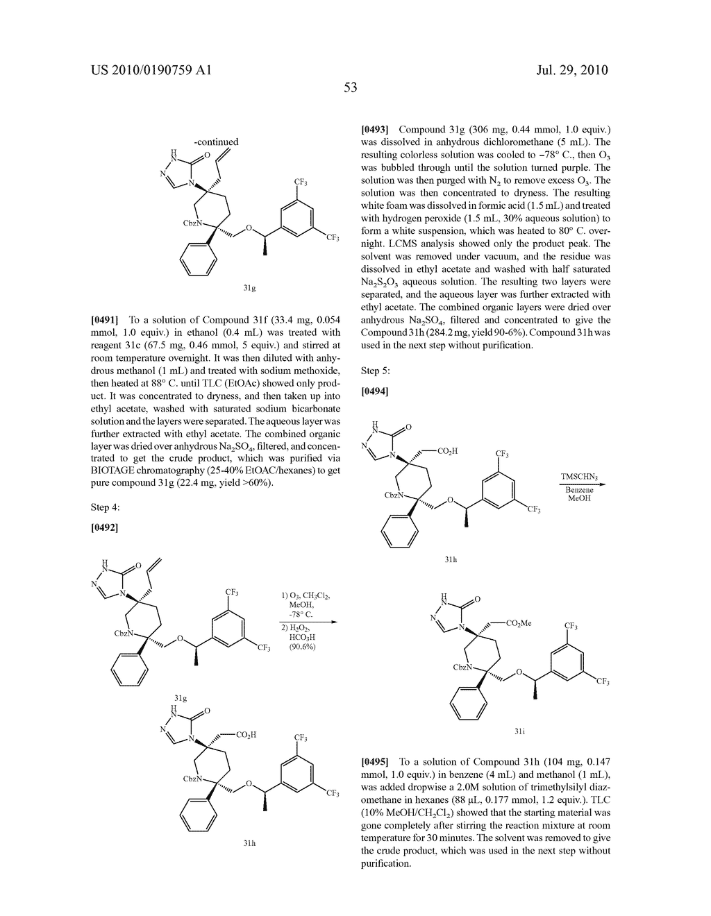 NK 1 ANTAGONISTS - diagram, schematic, and image 54