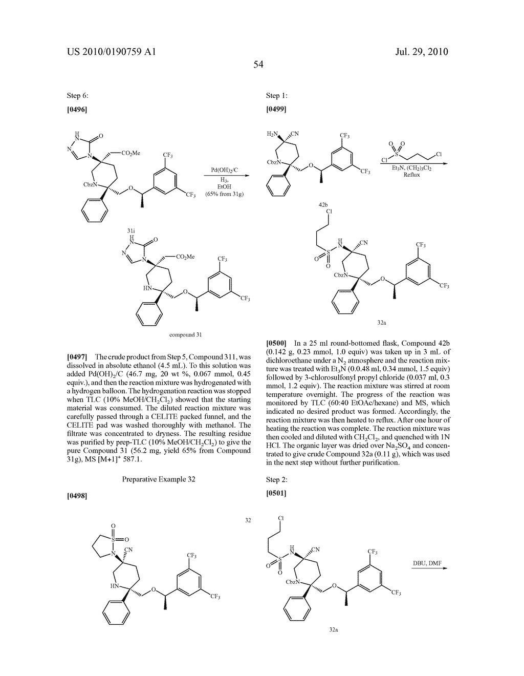 NK 1 ANTAGONISTS - diagram, schematic, and image 55