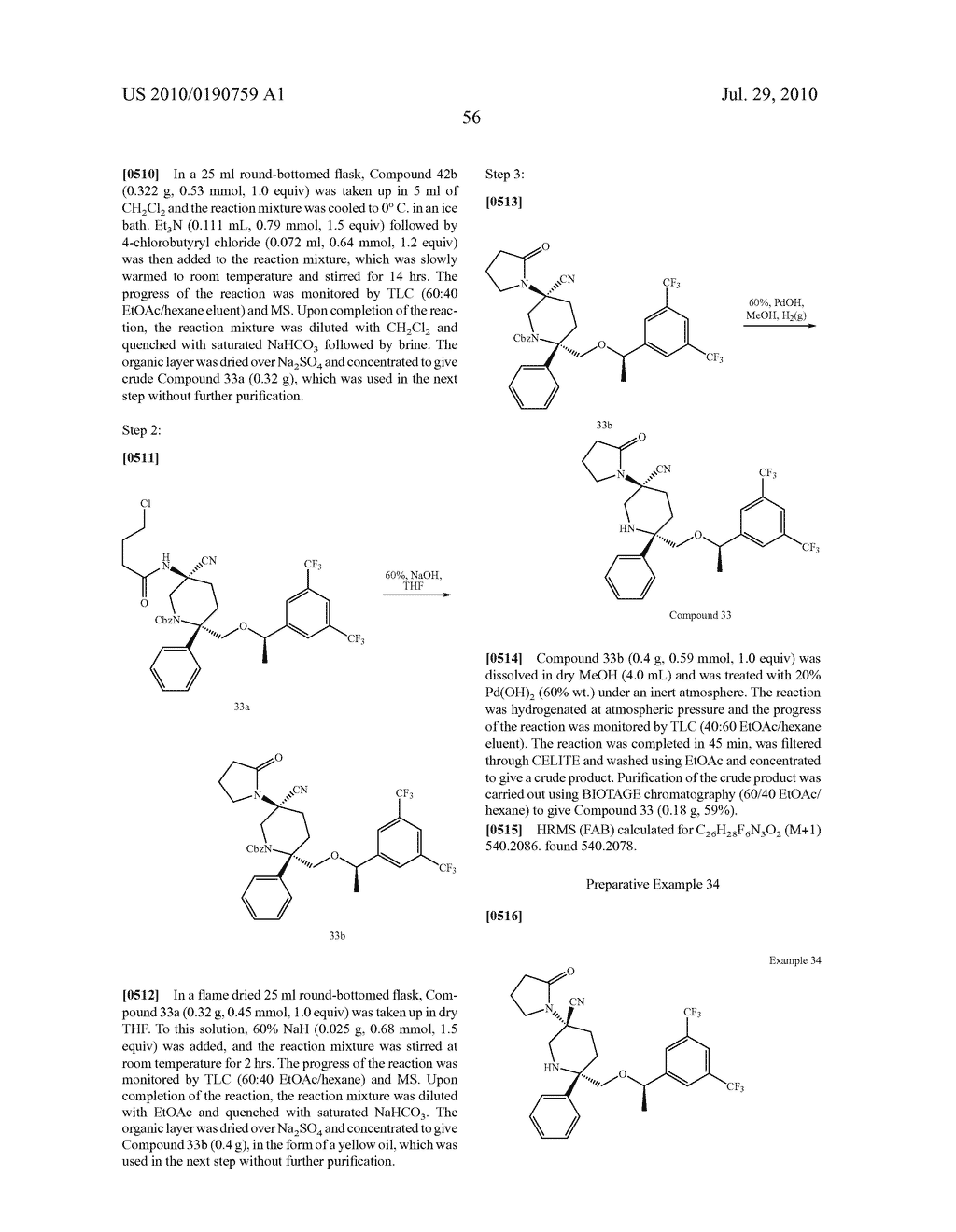 NK 1 ANTAGONISTS - diagram, schematic, and image 57