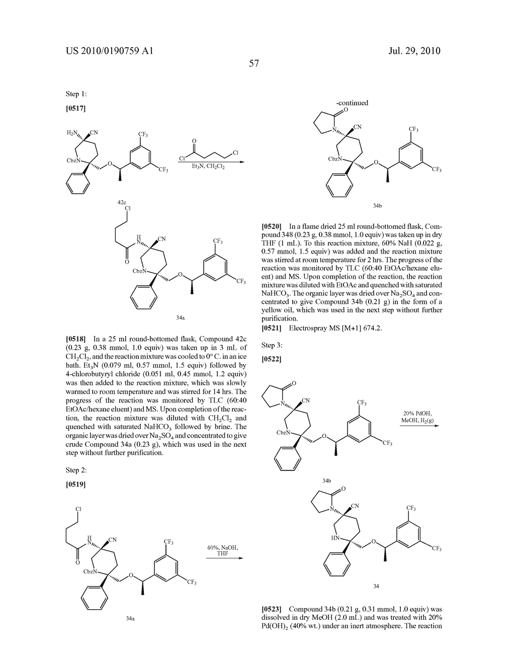 NK 1 ANTAGONISTS - diagram, schematic, and image 58