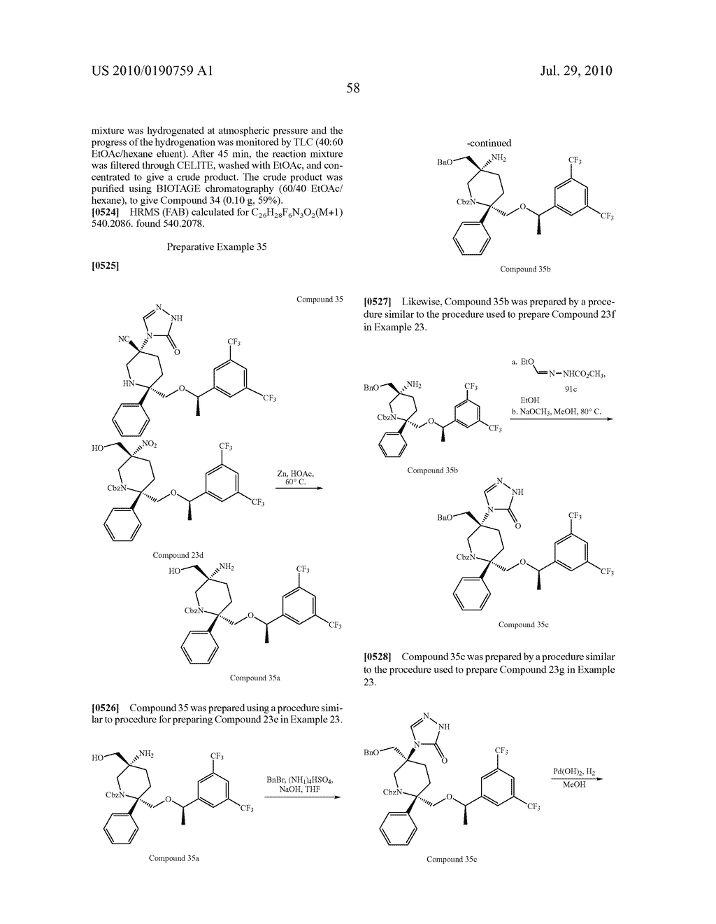 NK 1 ANTAGONISTS - diagram, schematic, and image 59