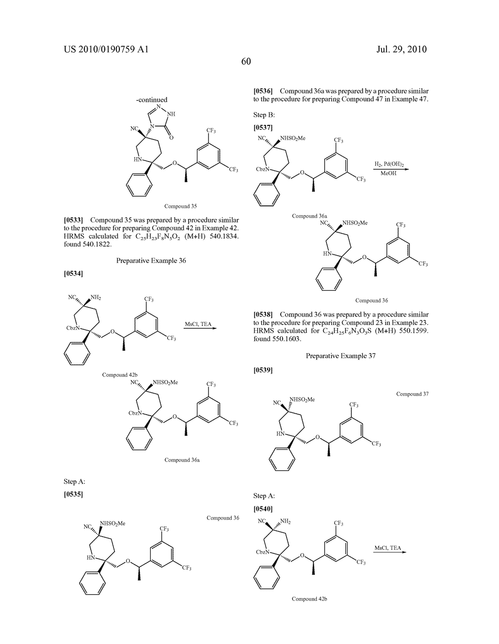 NK 1 ANTAGONISTS - diagram, schematic, and image 61