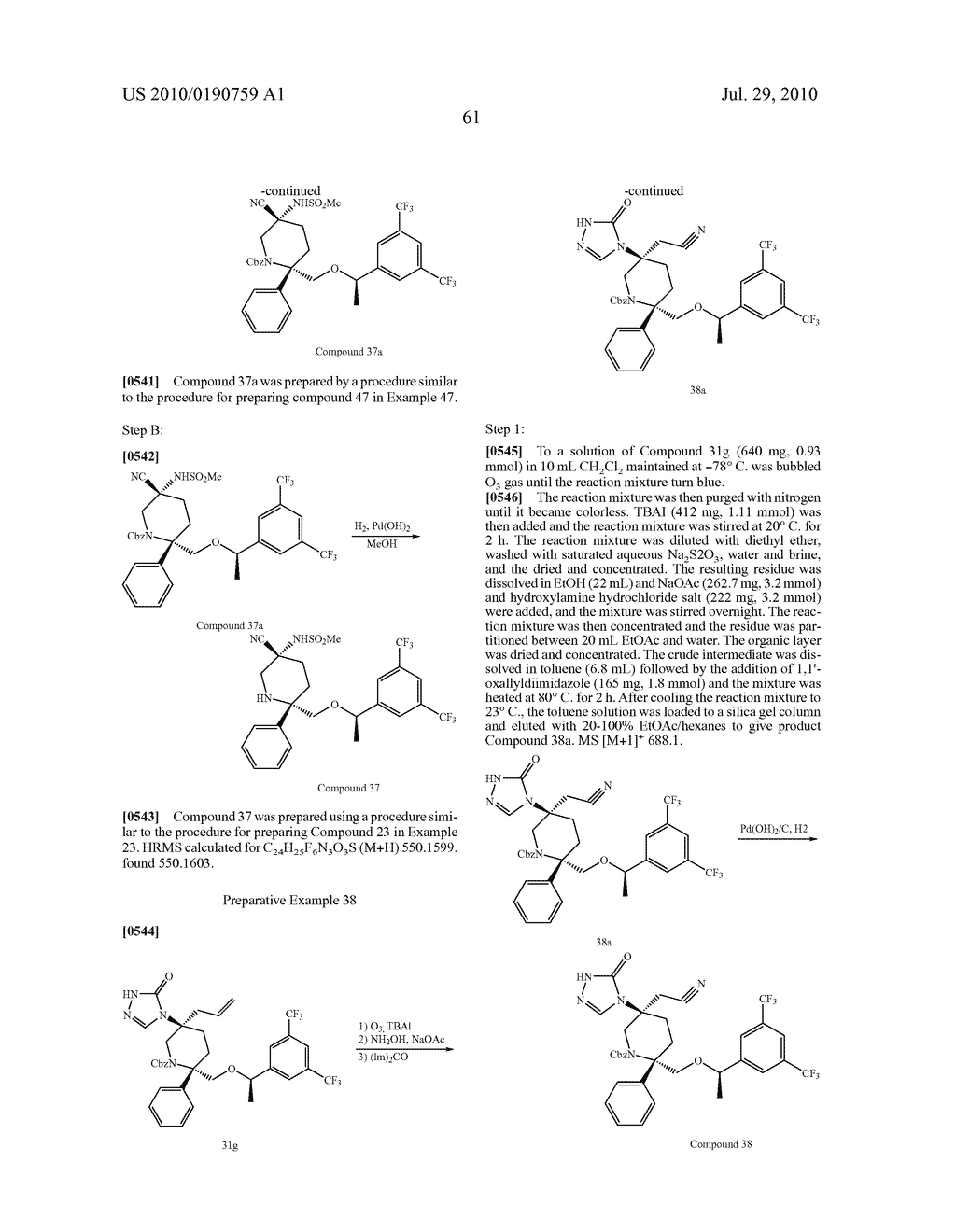 NK 1 ANTAGONISTS - diagram, schematic, and image 62