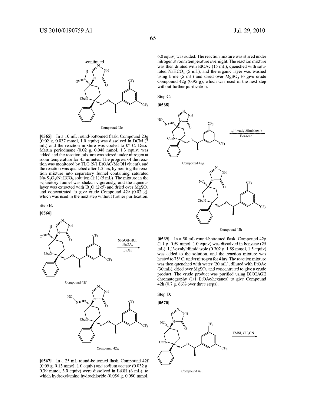 NK 1 ANTAGONISTS - diagram, schematic, and image 66