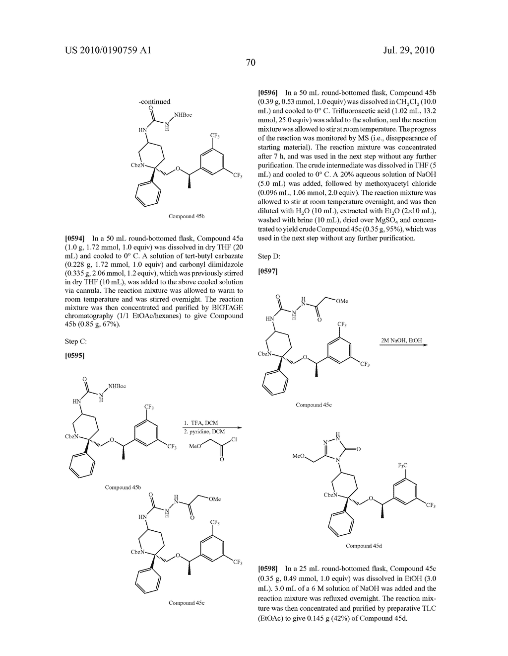 NK 1 ANTAGONISTS - diagram, schematic, and image 71