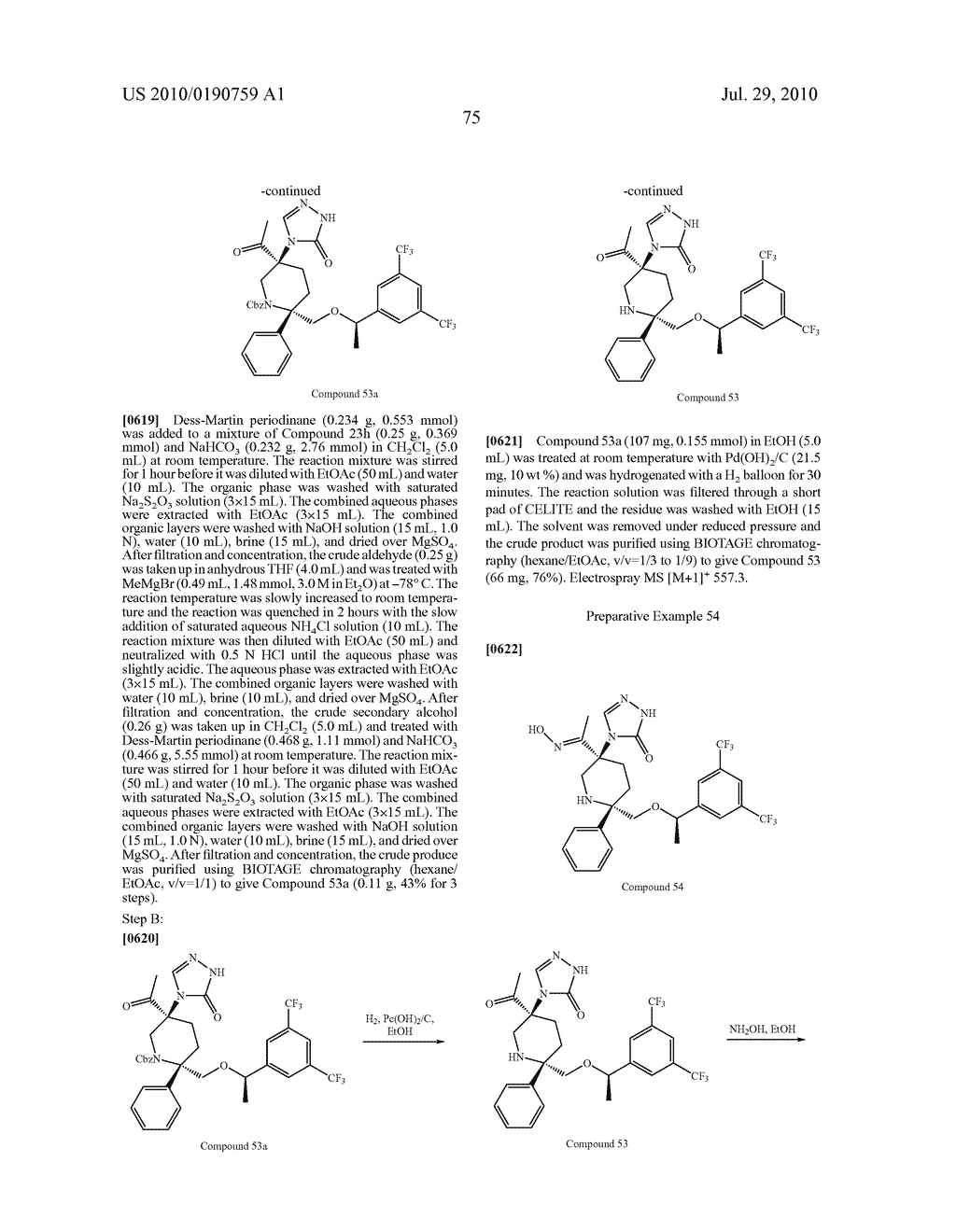 NK 1 ANTAGONISTS - diagram, schematic, and image 76