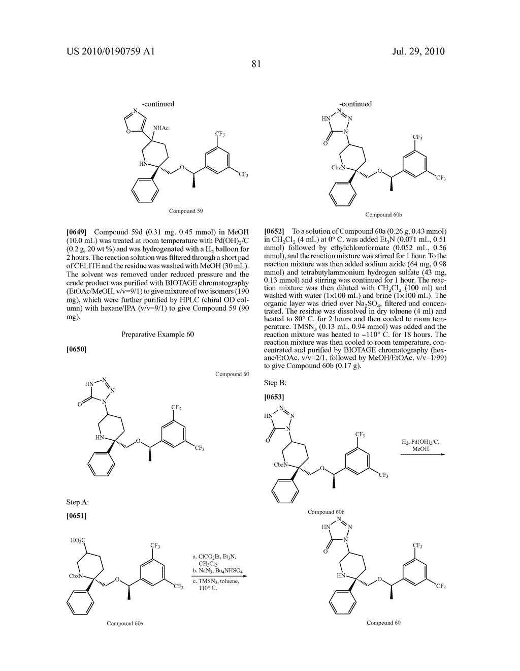 NK 1 ANTAGONISTS - diagram, schematic, and image 82