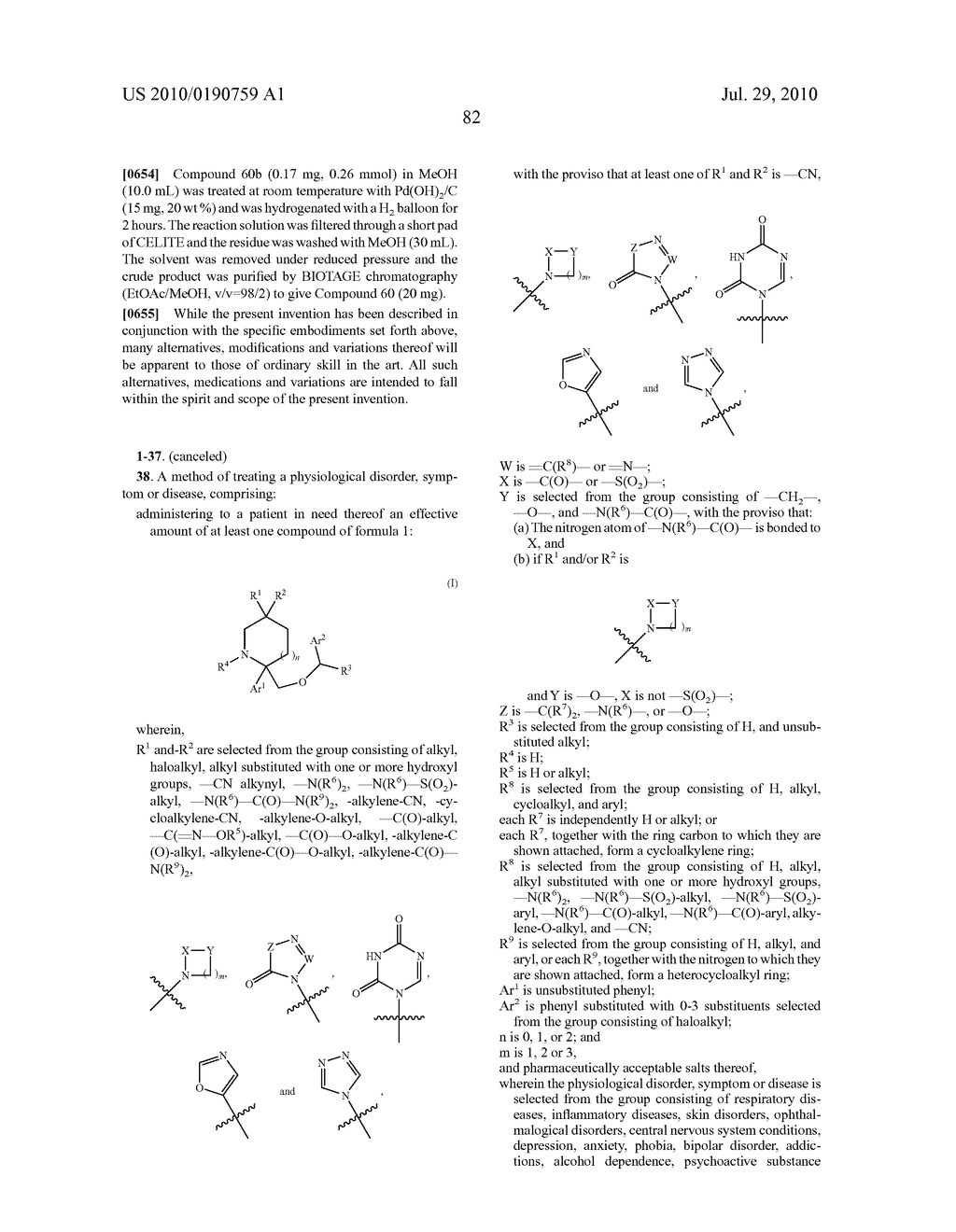 NK 1 ANTAGONISTS - diagram, schematic, and image 83