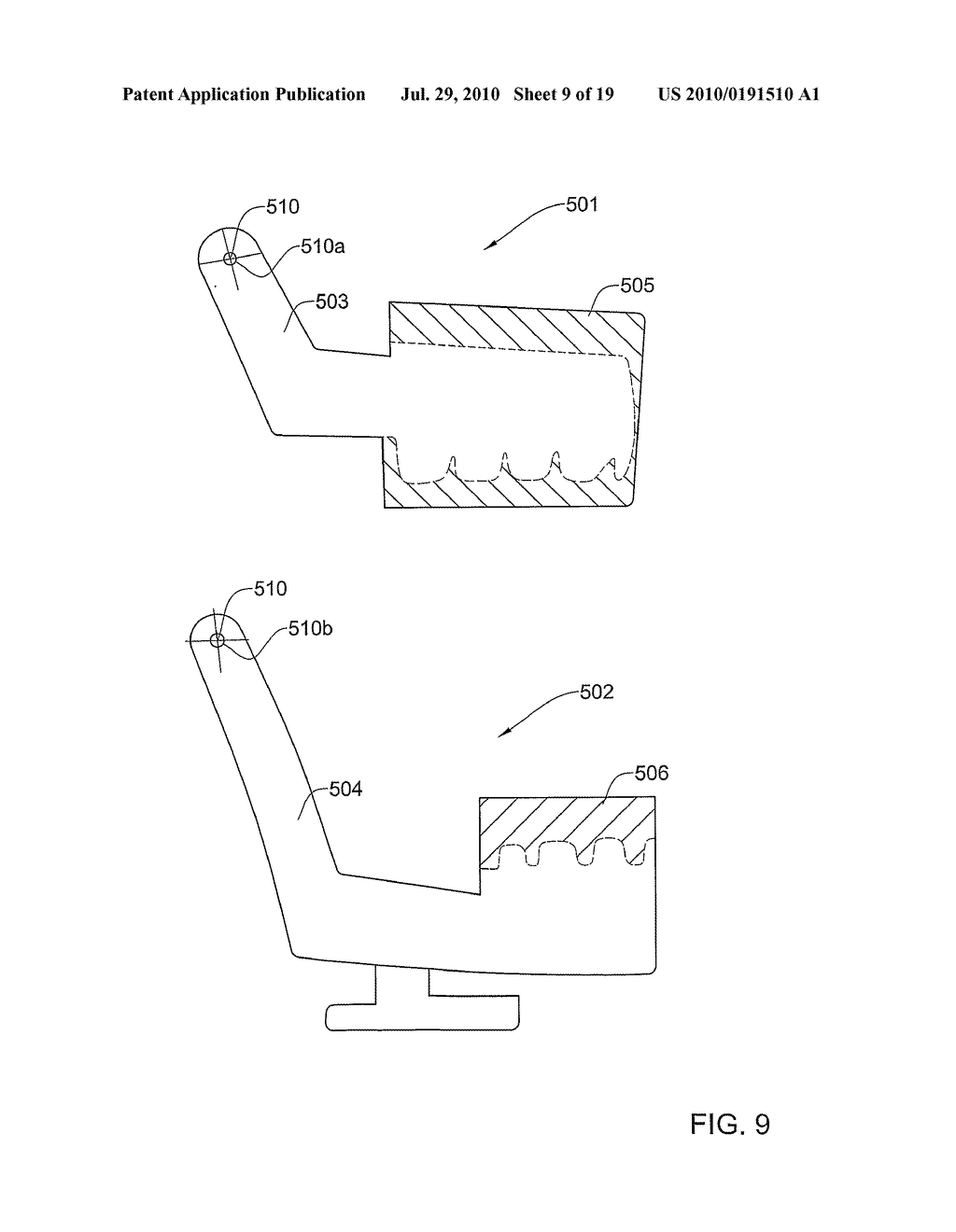 METHODS, APPARATUS AND SYSTEM FOR USE IN DENTAL PROCEDURES - diagram, schematic, and image 10