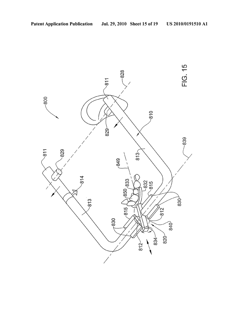 METHODS, APPARATUS AND SYSTEM FOR USE IN DENTAL PROCEDURES - diagram, schematic, and image 16