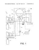 METHOD OF FILLING BOTTLES OR SIMILAR CONTAINERS IN A BOTTLE OR CONTAINER FILLING PLANT AND A FILLING SYSTEM FOR FILLING BOTTLES OR SIMILAR CONTAINERS IN A BOTTLE OR CONTAINER FILLING PLANT diagram and image