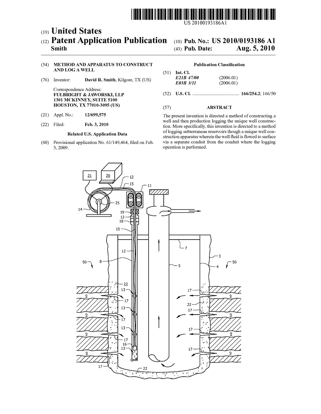 METHOD AND APPARATUS TO CONSTRUCT AND LOG A WELL - diagram, schematic, and image 01