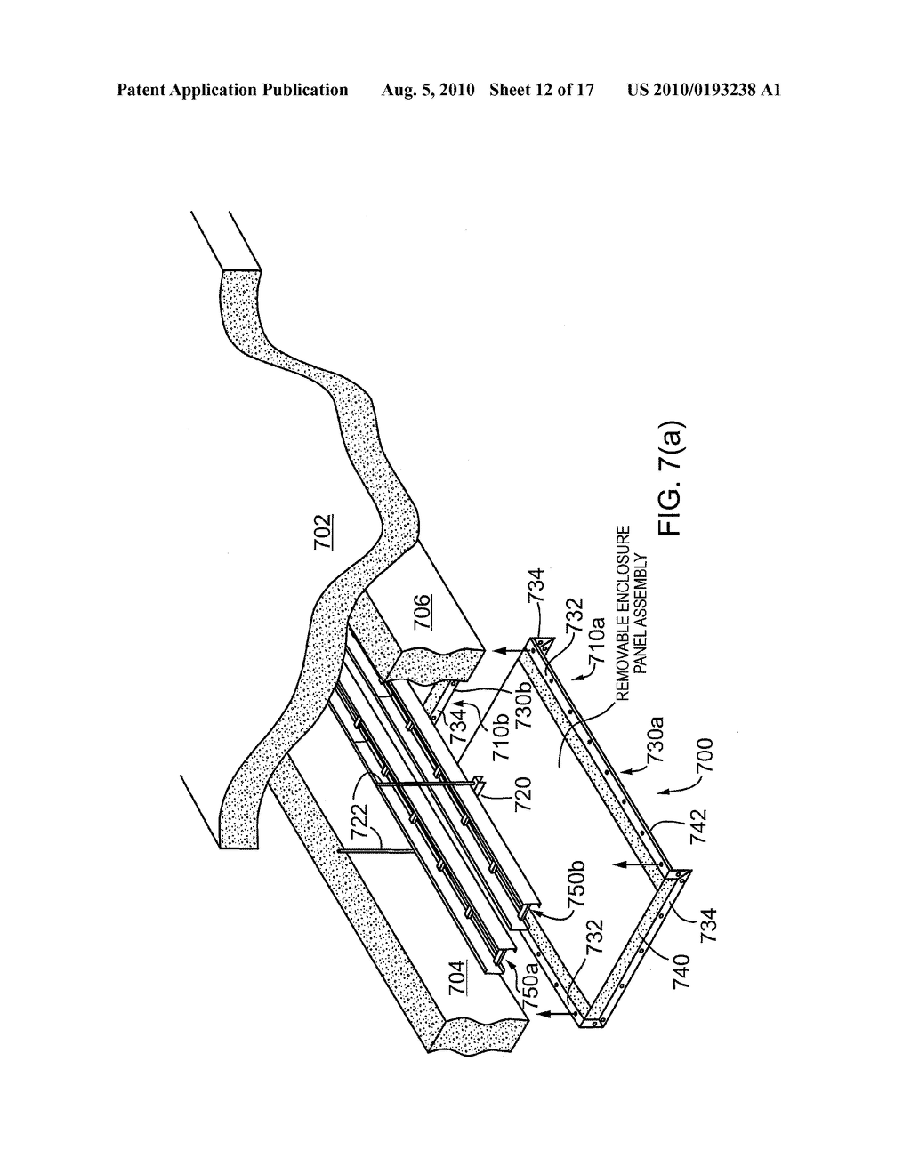 APPARATUS FOR PROTECTING CABLE TRAYS, CONDUITS AND/OR CABLES - diagram, schematic, and image 13