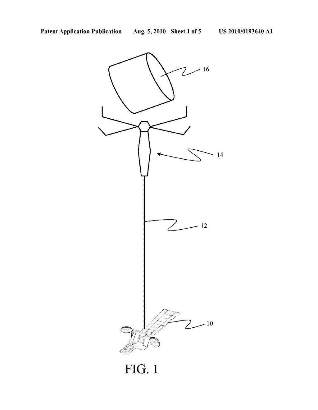 METHOD AND APPARATUS FOR SATELLITE ORBITAL CHANGE USING SPACE DEBRIS - diagram, schematic, and image 02