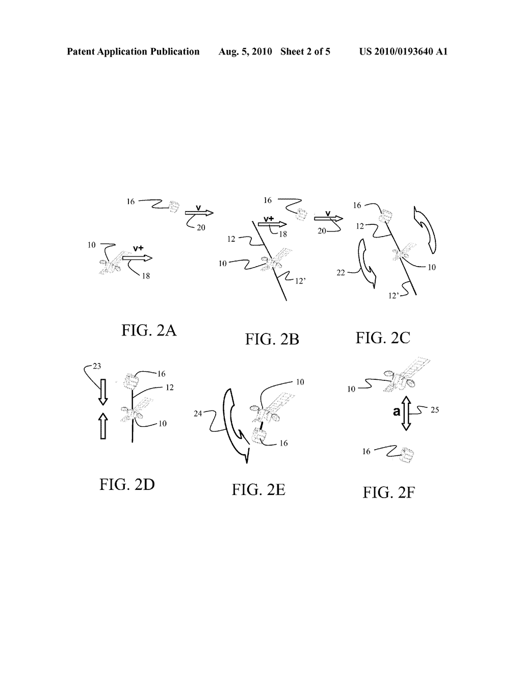METHOD AND APPARATUS FOR SATELLITE ORBITAL CHANGE USING SPACE DEBRIS - diagram, schematic, and image 03