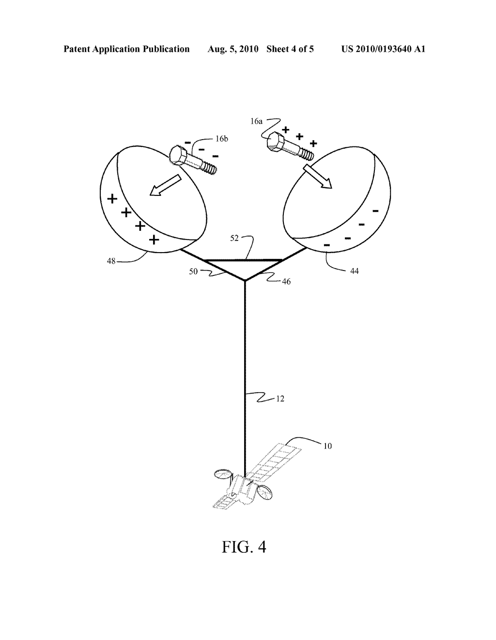 METHOD AND APPARATUS FOR SATELLITE ORBITAL CHANGE USING SPACE DEBRIS - diagram, schematic, and image 05