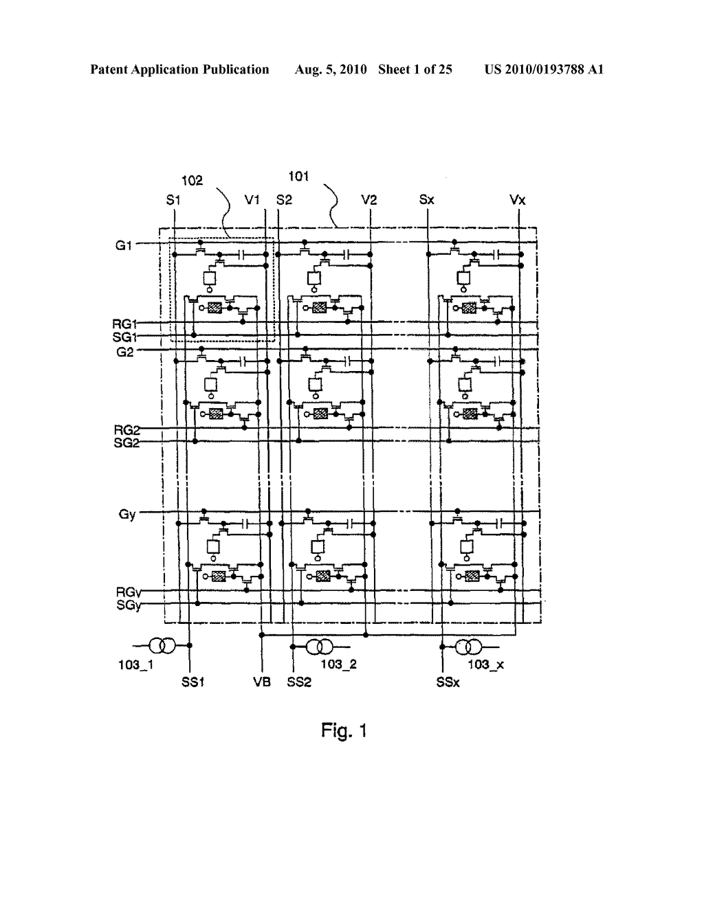 AREA SENSOR AND DISPLAY APPARATUS PROVIDED WITH AN AREA SENSOR - diagram, schematic, and image 02