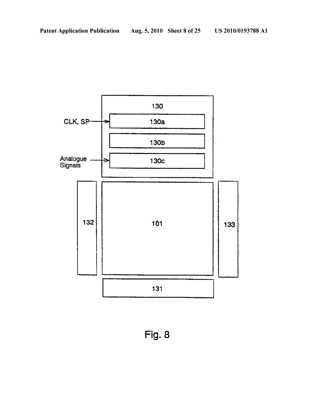 AREA SENSOR AND DISPLAY APPARATUS PROVIDED WITH AN AREA SENSOR - diagram, schematic, and image 09
