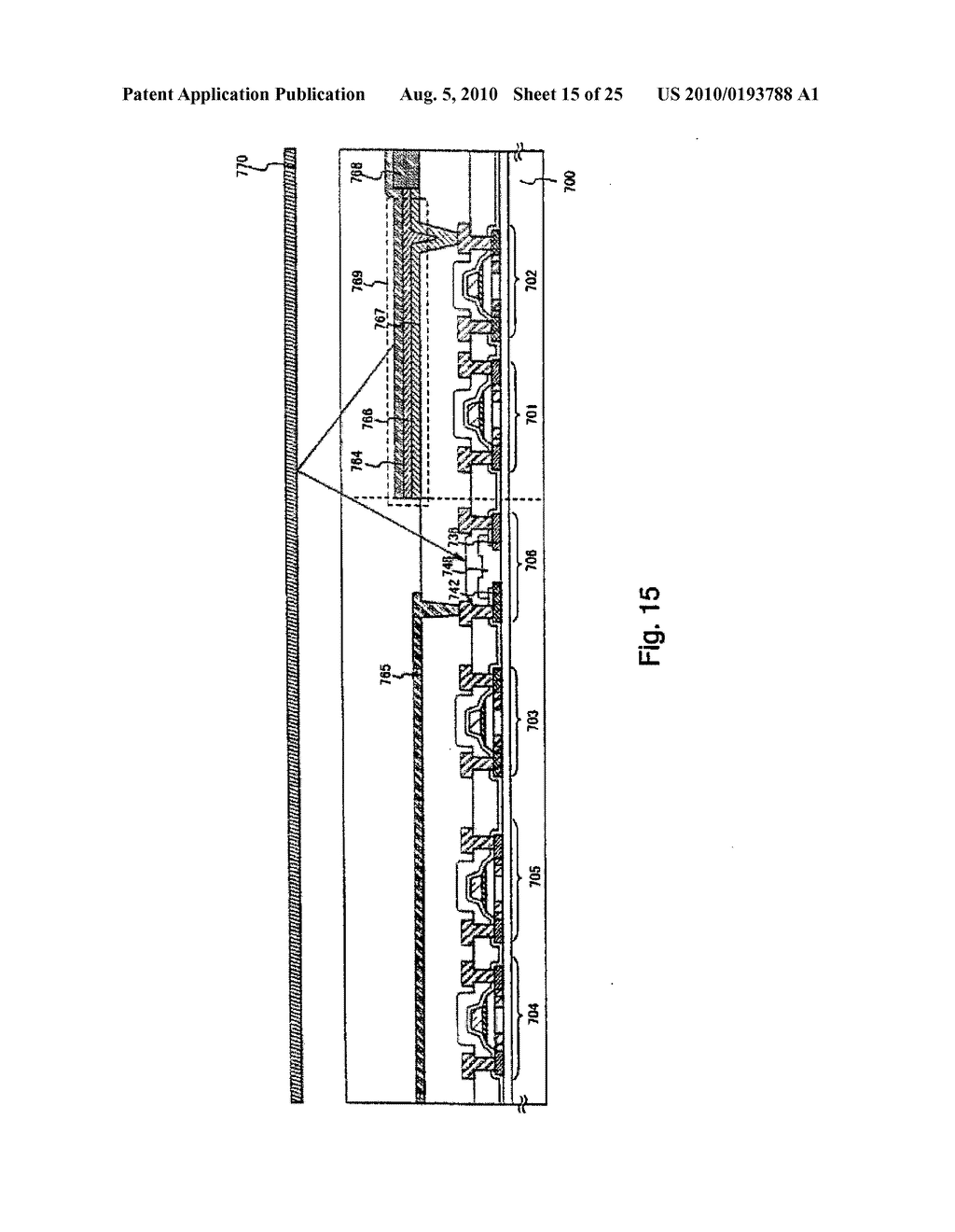AREA SENSOR AND DISPLAY APPARATUS PROVIDED WITH AN AREA SENSOR - diagram, schematic, and image 16