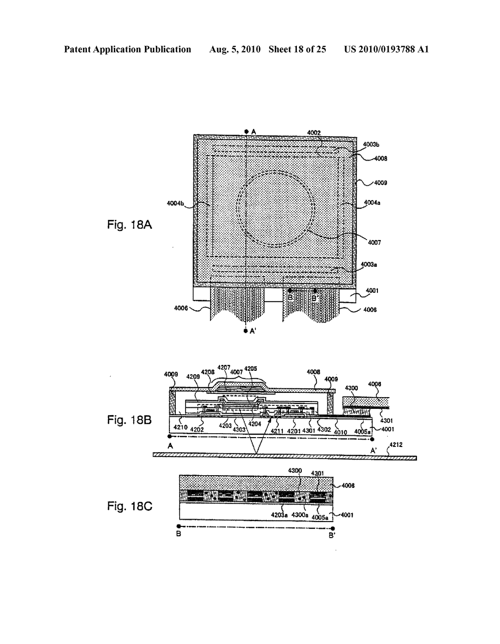AREA SENSOR AND DISPLAY APPARATUS PROVIDED WITH AN AREA SENSOR - diagram, schematic, and image 19