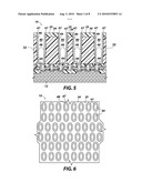 SEMICONDUCTOR DEVICES AND STRUCTURES INCLUDING AT LEAST PARTIALLY FORMED CONTAINER CAPACITORS AND METHODS OF FORMING THE SAME diagram and image