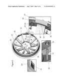 Custom engineered steel wheel with ABS plastic wheel cover diagram and image