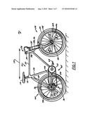 Bicycle Wheel Quick Release Assembly diagram and image