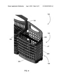 BASKET ASSEMBLY FOR A DISHWASHER, AND ASSOCIATED APPARATUS diagram and image