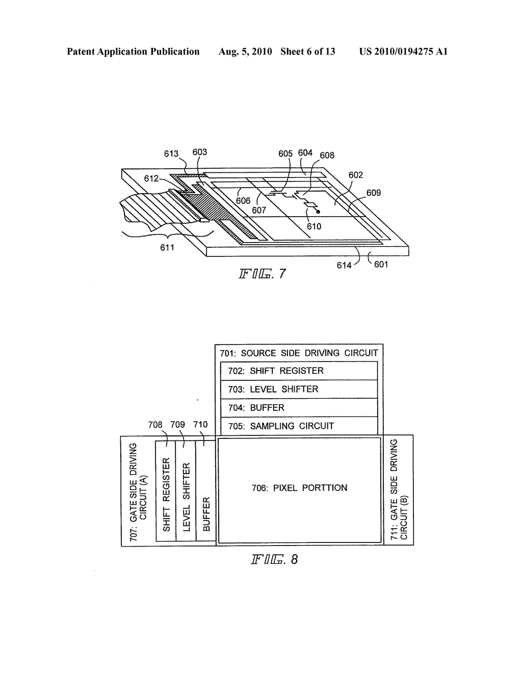 EL Display Device and Manufacturing Method Thereof - diagram, schematic, and image 07