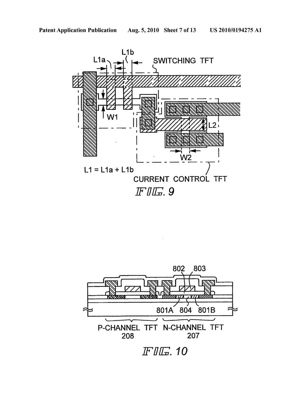 EL Display Device and Manufacturing Method Thereof - diagram, schematic, and image 08